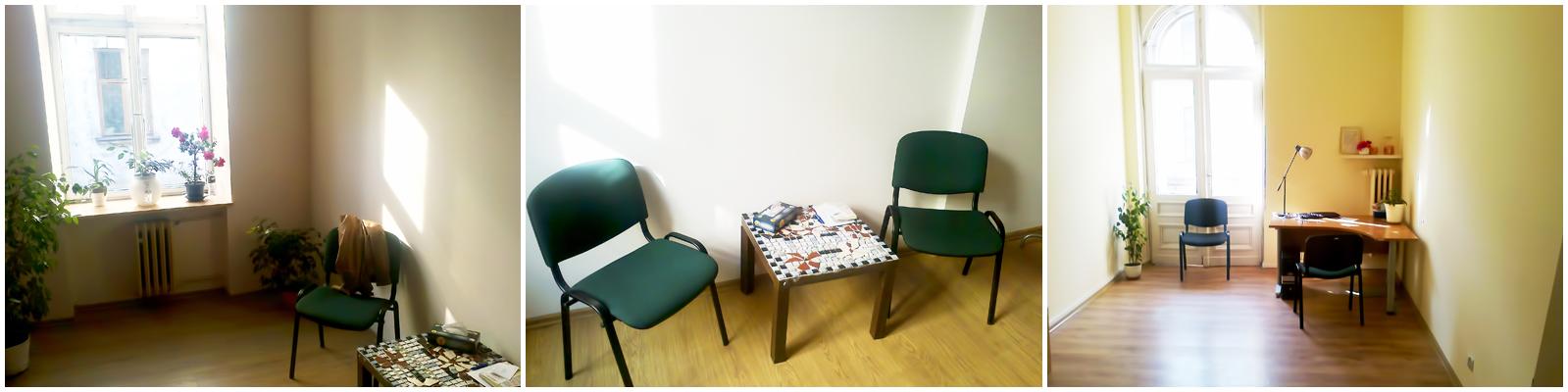 """Gabinet Centrum Świadomej Terapii ma swoją siedzibę w Stowarzyszeniu """"Pomost"""" ul. Próchnika 7 (pierwsze piętro) 90-408 Łódź"""